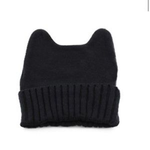 Accessories - Black animal ear hat